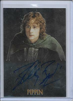 2004 Topps Chrome Lord Of The Rings Trilogy Billy Boyd   Pippin   Auto