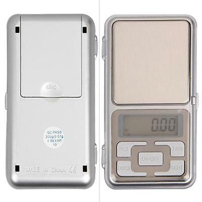 Mini Digital Electronic Balance Weight Scale Weigher 0.01g-100g Silver