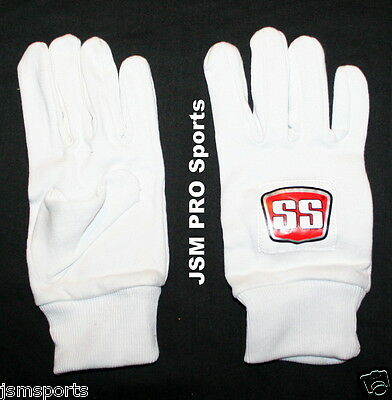 SS PLAYER SERIES Cricket Batting Inners for Gloves + Both LH or RH + COTTON+MENS