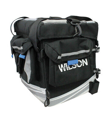 Wilson Ultimate Fishing Tackle Station - Kayak Tackle Bag with Triple Rod Holder