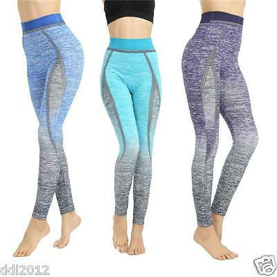 Women Exercise Leggings Running Yoga Sports Fitness Gym Stretch Pants Trousers