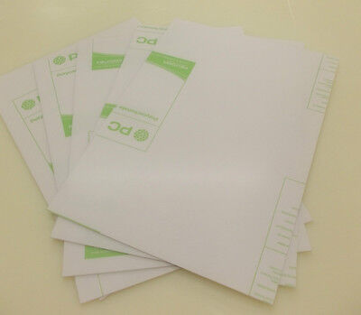 5 Pack 2MM CLEAR  POLYCARBONATE SHEET A3 SIZE 420MM X 297MM PLASTIC PANEL
