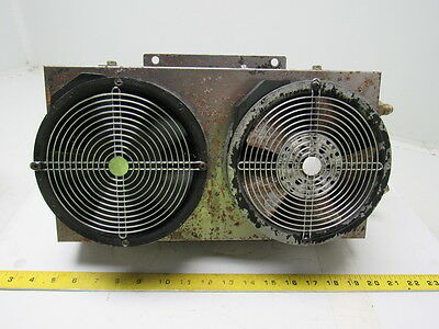 "Yamasaki Mazak 8"" x 15"" Coolant Thru Radiator From a CNC MLTPLX 620 Double Fan"