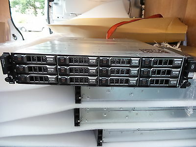 "Dell PowerVault MD3200 SAS DAS Array DAS 12 x 3.5"" 2 x CNTR 12 CADDIES INCLUDED"