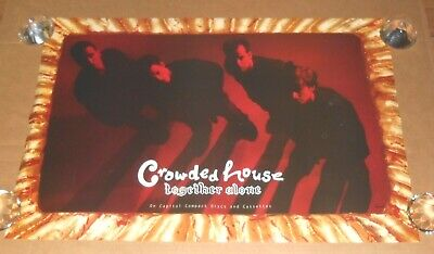 Crowded House Together Alone 1994 Promo Original Poster 30x20