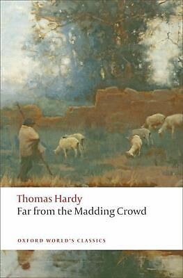 Far from the Madding Crowd by Thomas Hardy Paperback Book (English)