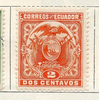 Ecuador 1897 Early Issue Fine Mint Hinged 2c. 090359