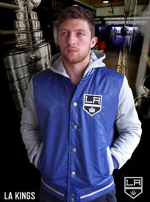 LA Kings NHL Lightweight Hooded Jacket - Stock Clearance Sale!