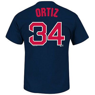 Boston Red Sox David Ortiz MLB Player T-shirt