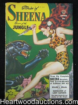 Sheena Spring 1951 - #1 Golden age comic crossover, FIRST ISSUE - Ultra High Gra