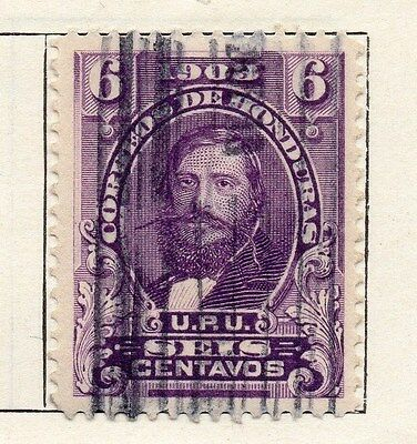 Honduras 1903 Early Issue Fine Used 6c. 090672