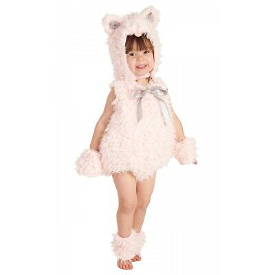Pink Kitty Cat Costume Toddler/Baby Halloween Fancy Dress