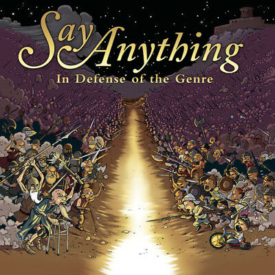 Say Anything - In Defense of the Genre [New CD] Explicit, Sony Basic 2