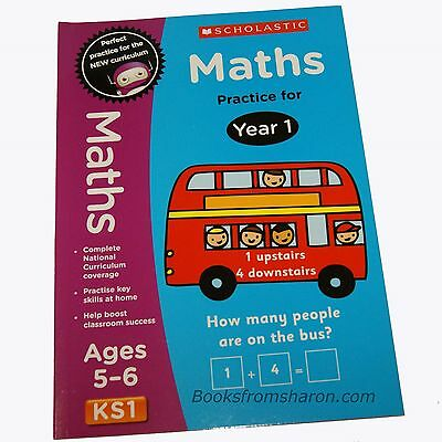 Maths Practice for Year 1  (KS1 / Age 5-6 Years)