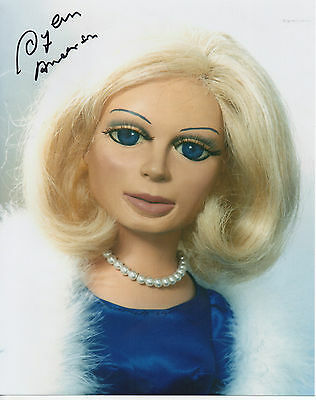 THUNDERBIRDS personally signed 10x8  LADY PENELOPE voiced by SYLVIA ANDERSON