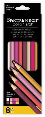 Spectrum Noir - Colorista Professional Arts & Craft Set 4 Pencil Pack (8 Pack)