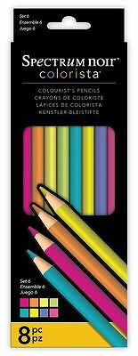 Spectrum Noir - Colorista Professional Arts & Craft Set 6 Pencil Pack (8 Pack)