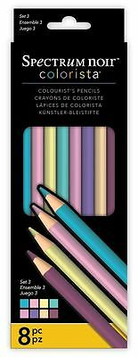 Spectrum Noir - Colorista Professional Arts & Craft Set 3 Pencil Pack (8 Pack)