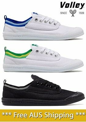 Dunlop Volley International Mens Lace Up Casual Classic Style Canvas Shoes