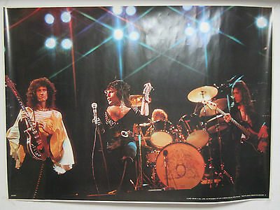 Queen Japan Large Colour Poster by Stuff 8 Co. Ltd. Freddy Mercury Brian May