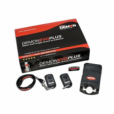 Datatool Demon Evo Plus Motorcycle / Bike Alarm & Movement Sensor - 02000146