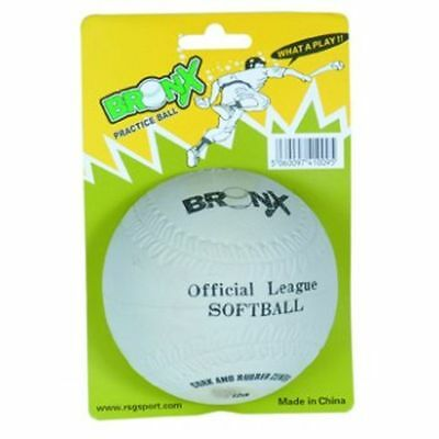 Bronx BB9R Rounders Sport Outdoor Training/Practice Rubber Softball Ball 12Inch