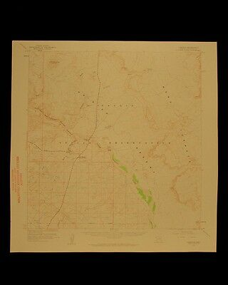 Cameron Arizona vintage 1959 original USGS Topographical chart