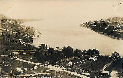 RPPC  WAIROA, New Zealand   BIRDSEYE   Burridge Photo  Blank Back  Postcard