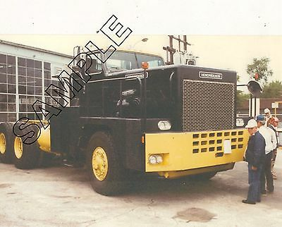 1980s HENDRICKSON Large PRIME MOVER For Sale 1987 8x10 COLOR GLOSSY PHOTO