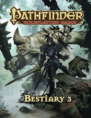 Pathfinder Roleplaying Game: Bestiary 3 by Jason Bulmahn (English) Hardcover Boo