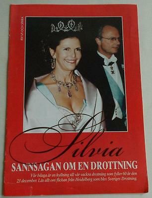 Swedish magazine appendix 2003: Silvia, the true story of a Queen, lots of photo