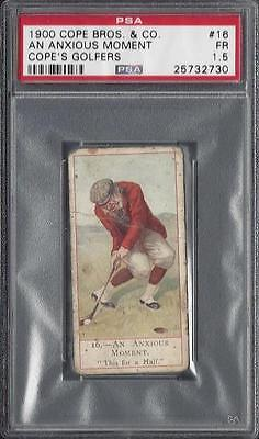 1900 Cope - Cope's Golfers - #16 An Anxious Moment - Psa 1.5