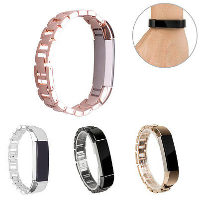 Metal Stainless Steel Replacement Wristband Watch Band Strap For Fitbit Alta