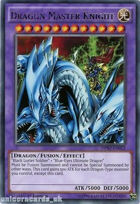 DPRP-EN012 Dragon Master Knight Rare 1st edition Mint YuGiOh Card