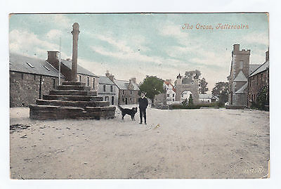 P2792 Original old postcard of The Cross, Fettercairn