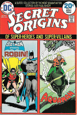 Secret Origins Comic Book #7, DC Comics 1974 FINE