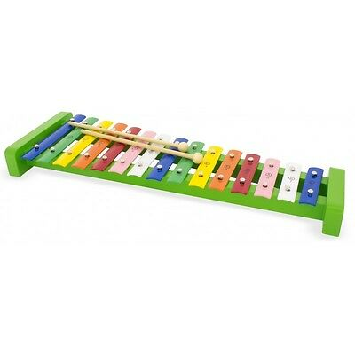 Metallophone Xylophone Couleur 15 note Percussion Bois Jouet Musical Enfant Neuf