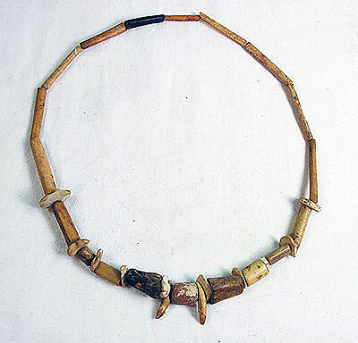 PRE COLUMBIAN WOODLAND period necklace - Middle Tennessee - 500 BC.. mb-5534