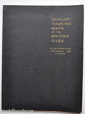 - DUNLOP Touring MAPS of the BRITISH ILES 1950s -