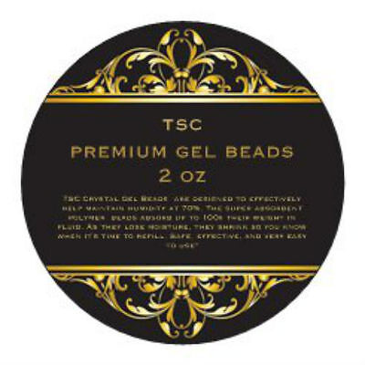 TSC Premium Clear Crystal Gel Humidification Beads 2 oz Humidors & Humidifiers