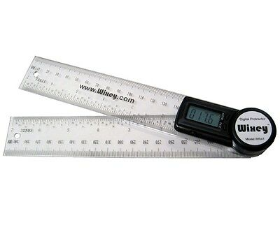 "Wixey 8"" Digital Protractor and Rule, WR41"
