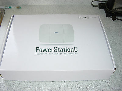 UBIQUITI PowerStation5 Hi-Performance 5GHz Outdoor Wireless Station PS5-22V