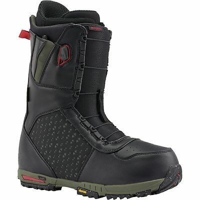 2016 NWT MENS BURTON IMPERIAL SNOWBOARD BOOTS $320 black red green vibram