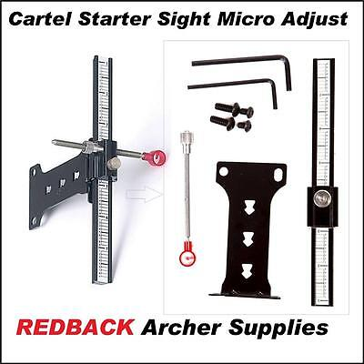 Cartel Starter Sight for beginners archery recurve compound bow