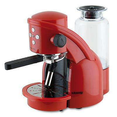 [Reconditionné] Cafetiere Expresso H.koenig Machine A Cafe Expresso 15 Bar