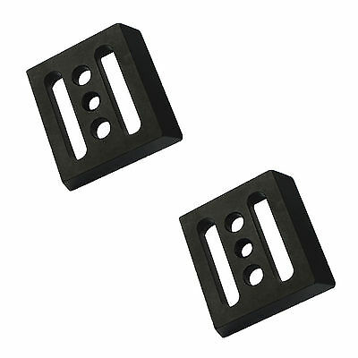 2* Universal Telescope Small Dovetail mounting plate for Equatorial Tripod+track