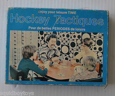 HOCKEY TACTICS (Tactiques) CARD GAME 1975 Corolab Complete