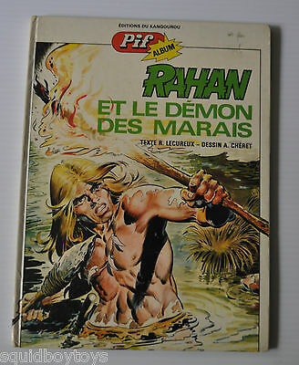 RAHAN et le Demon des Marais BD French Comic Book 1974 Pif / Vaillant