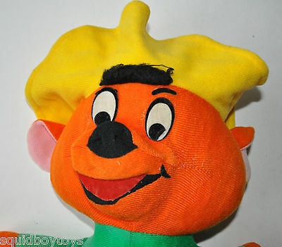 "- vintage SPEEDY GONZALES 15"" tall PLUSH DOLL Warner Brothers /Looney Tunes 70s-"