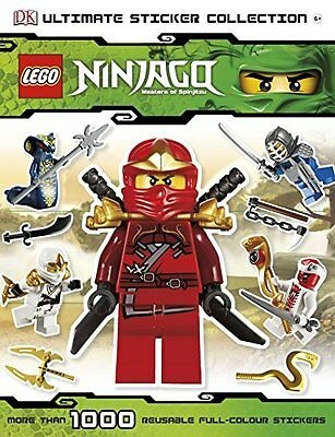 LEGO? Ninjago Ultimate Sticker Collection (DK) Paperback 2012) Great Gift!